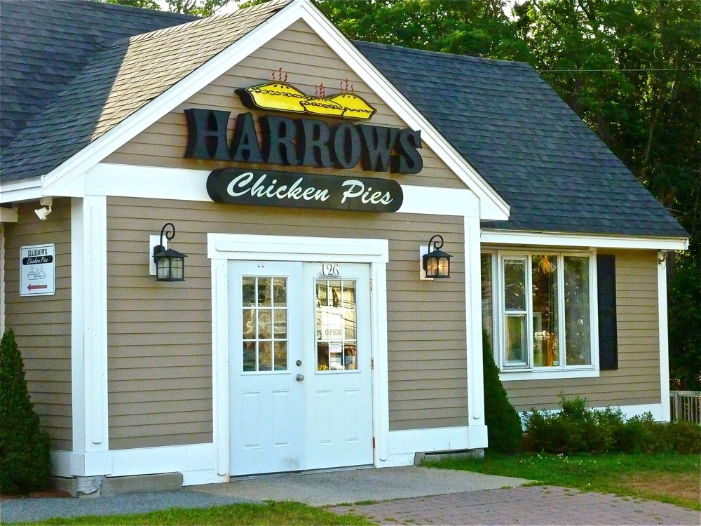 Harrows Chicken Pies in Reading, Massachusetts, makes the best chicken pot pies I have ever tasted!