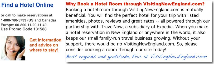 Hotel Reservations New England, USA, World