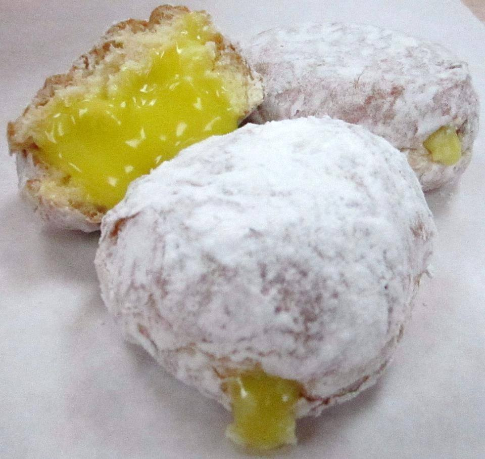Kane's lemon-filled donuts, Saugus MA