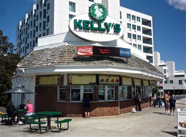 Kelly's Roast Beef, Revere Beach, in Revere, Massachusetts
