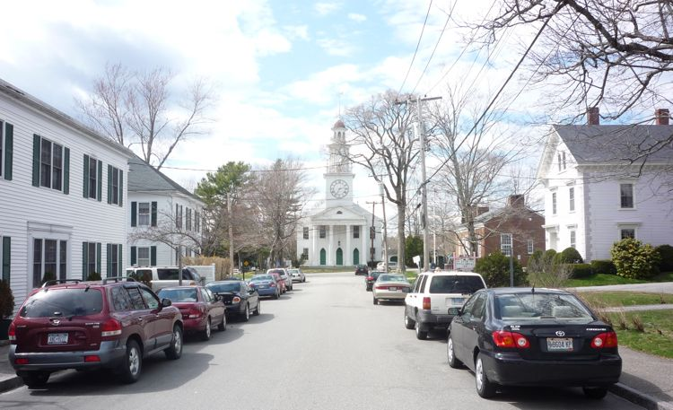 Kennebunkport Congregational Church photo, Kennebunkport, Maine