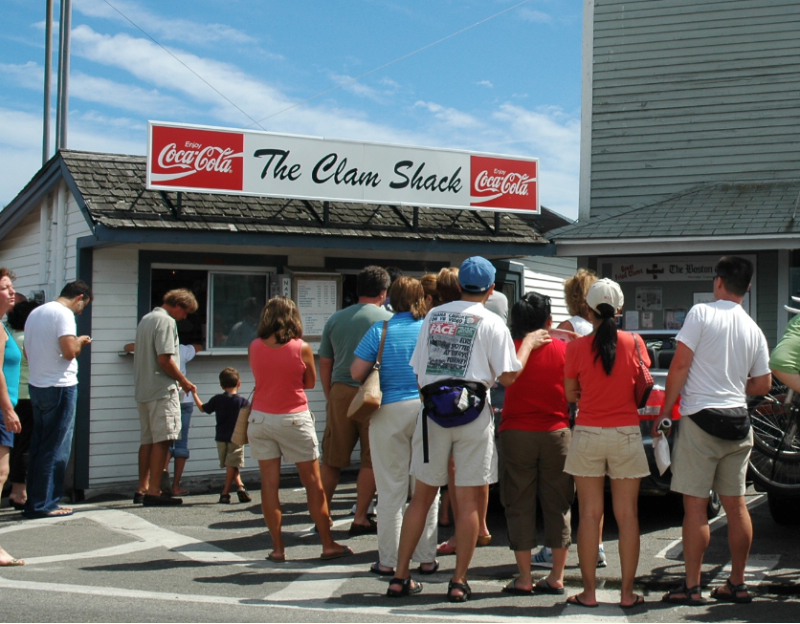 The Clam Shack in Kennebunkport, Maine.