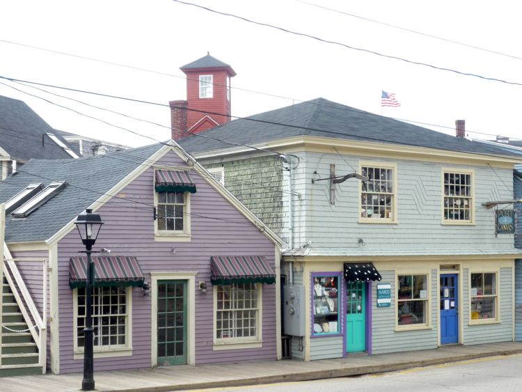 Kennebunkport, Maine, architectural contrasts photo