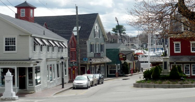Kennebunkport, Maine, Dock Square, Photo