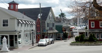 Kennebunkport, Maine, Dock Square photo