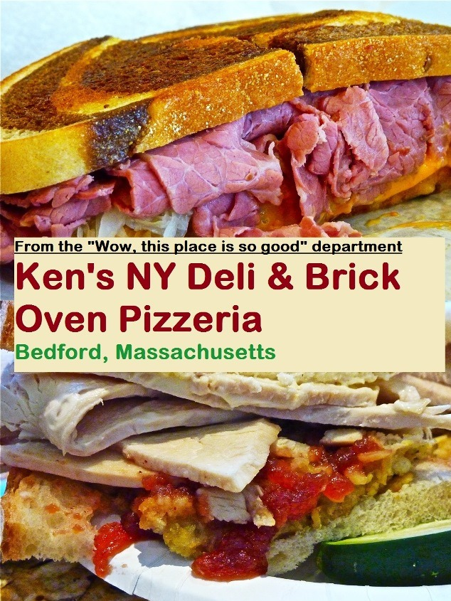 Why Ken's NY Deli and Brick Oven Pizzeria in Bedford, Mass., is one of the best family owned and operated comfort food restaurants in the Boston area.