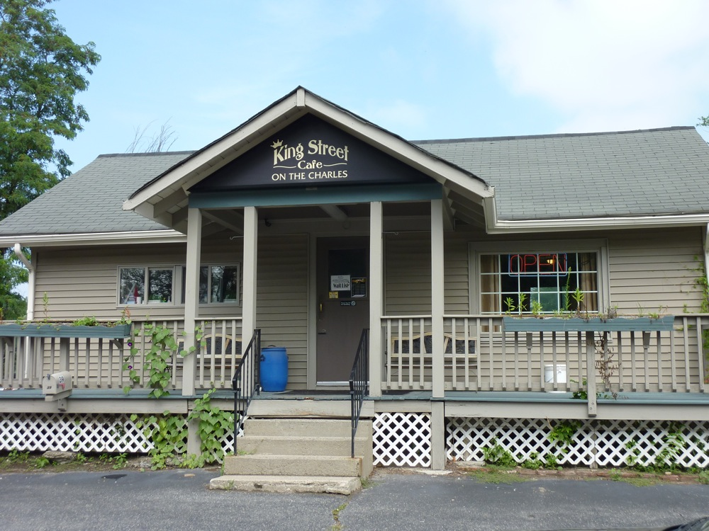 King Street Cafe on the Charles in Millis, Massachusetts is a classic breakfast-only restaurant.