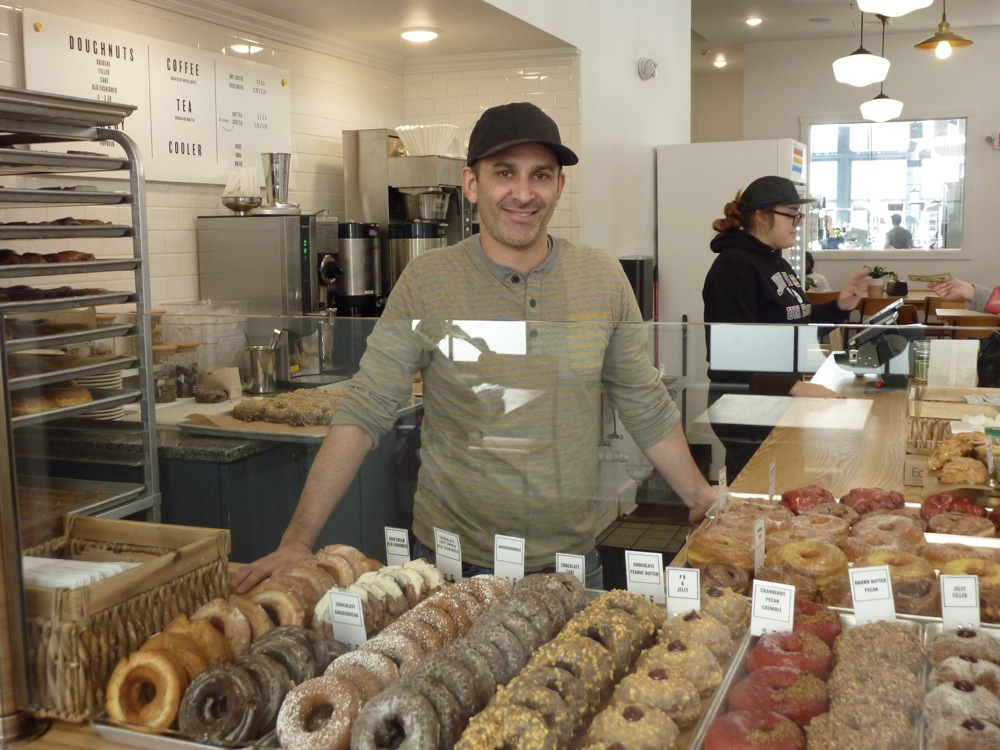 Adam Lastrina, co-owner at Knead Doughnuts in Providence, Mass.