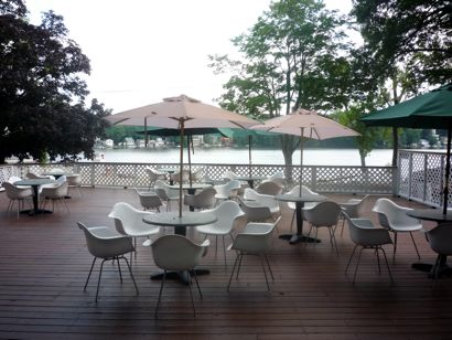 Lake Pearl beach deck photo, Wrentham, MA