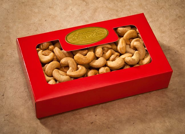 Cashews from Len Libby Candies in Scarborough, Maine.