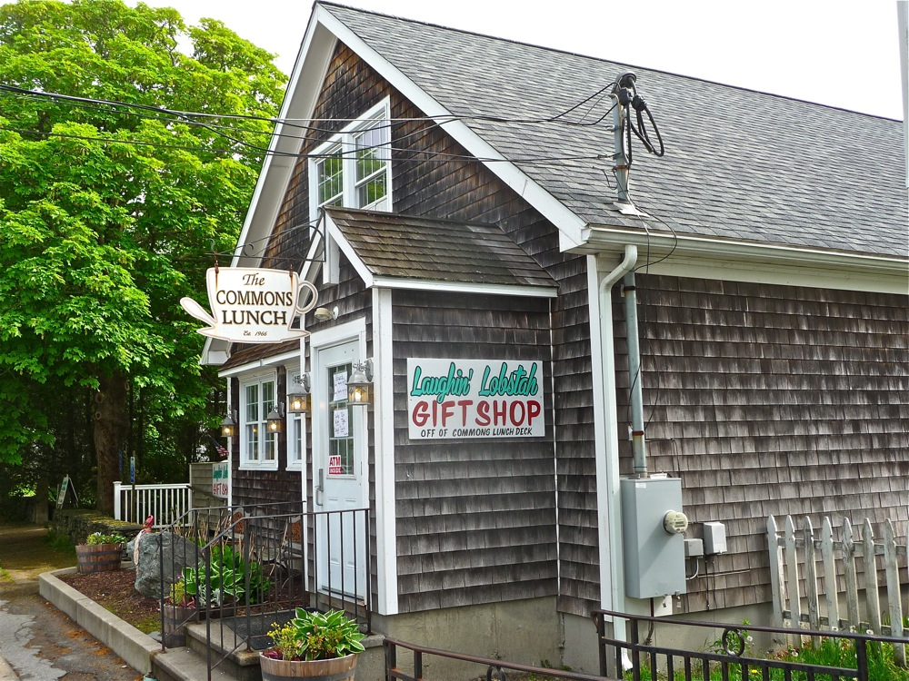 The Commons Lunch in Little Compton, Rhode Island is a local legend specializing in Johnnycakes.