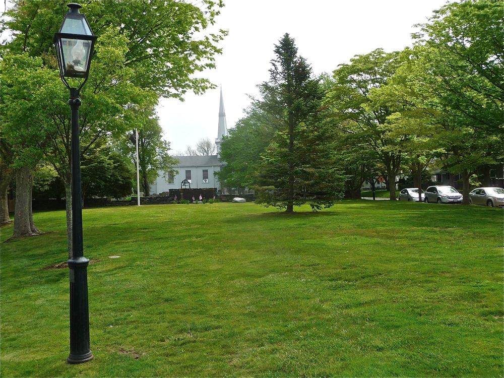 Rhode Island has few town commons, but this town green in Little Compton is a gem.