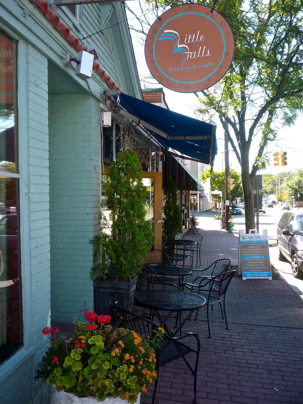 Little Falls Bakery and Cafe, Pawtuxet Village RI