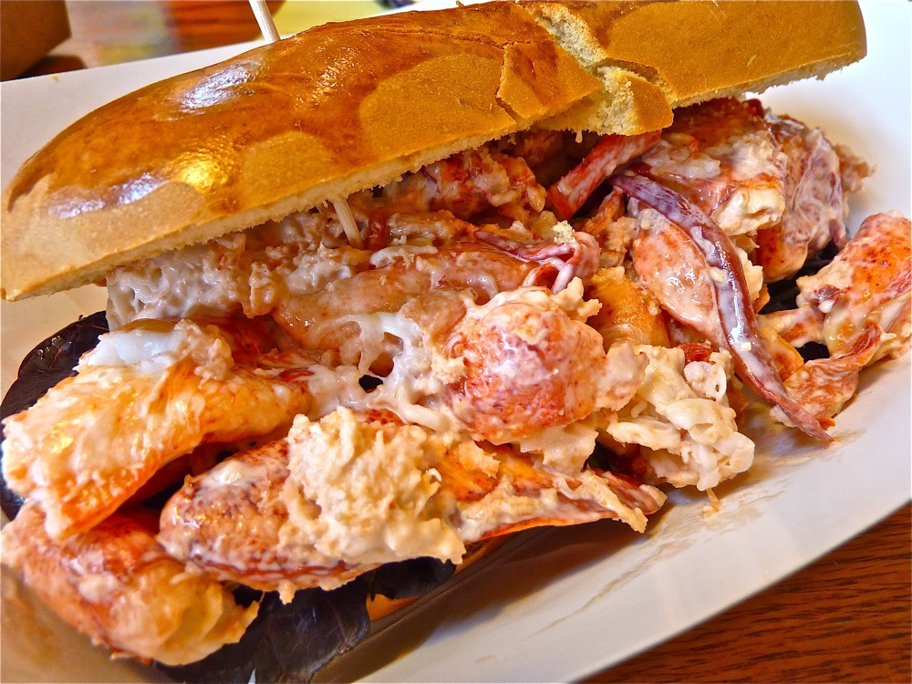 Discovering huge lobster rolls at Lobstah On A Roll in Salem and Boston, Mass.