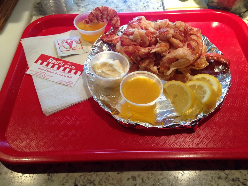 Lobster Roll, Red's Wiscasset ME