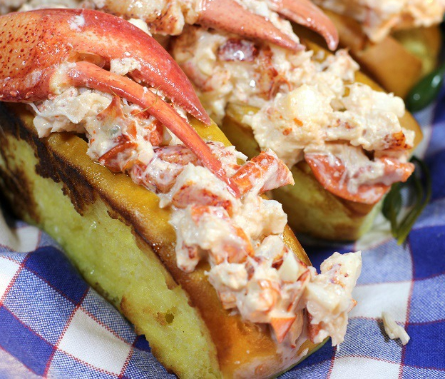 Lobster Rolls from Woodman's, Essex MA