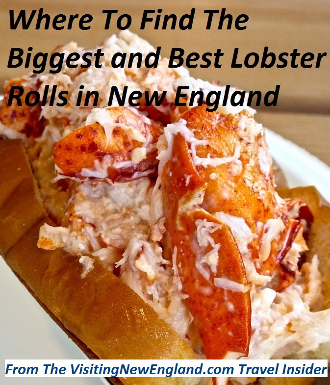 Because a lobster roll is not the best if it isn't also big! These New England restaurants and lobster shacks serve both amazing tasting and huge lobster rolls: http://www.visitingnewengland.com/best-lobster-roll-new-england.html