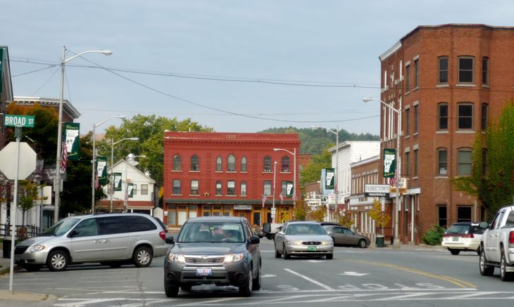Downtown Lyndonville, VT, Northeast Kingdom Vermont
