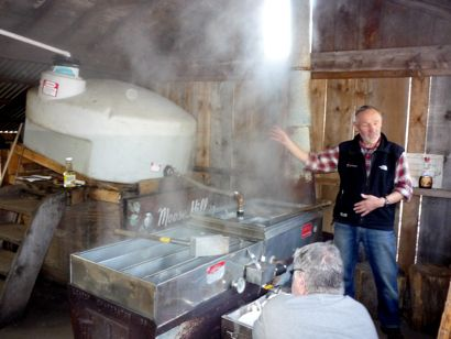 Maple Sugaring at Moose Hill Reservation, Sharon, MA