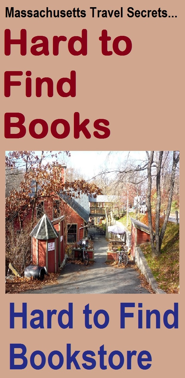 This fascinating indie bookstore in rural western Massachusetts not only sells hard-to-find books, but is also very hard to find.
