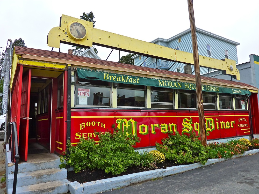 Moran Square Diner in Fitchburg, Massachusetts.