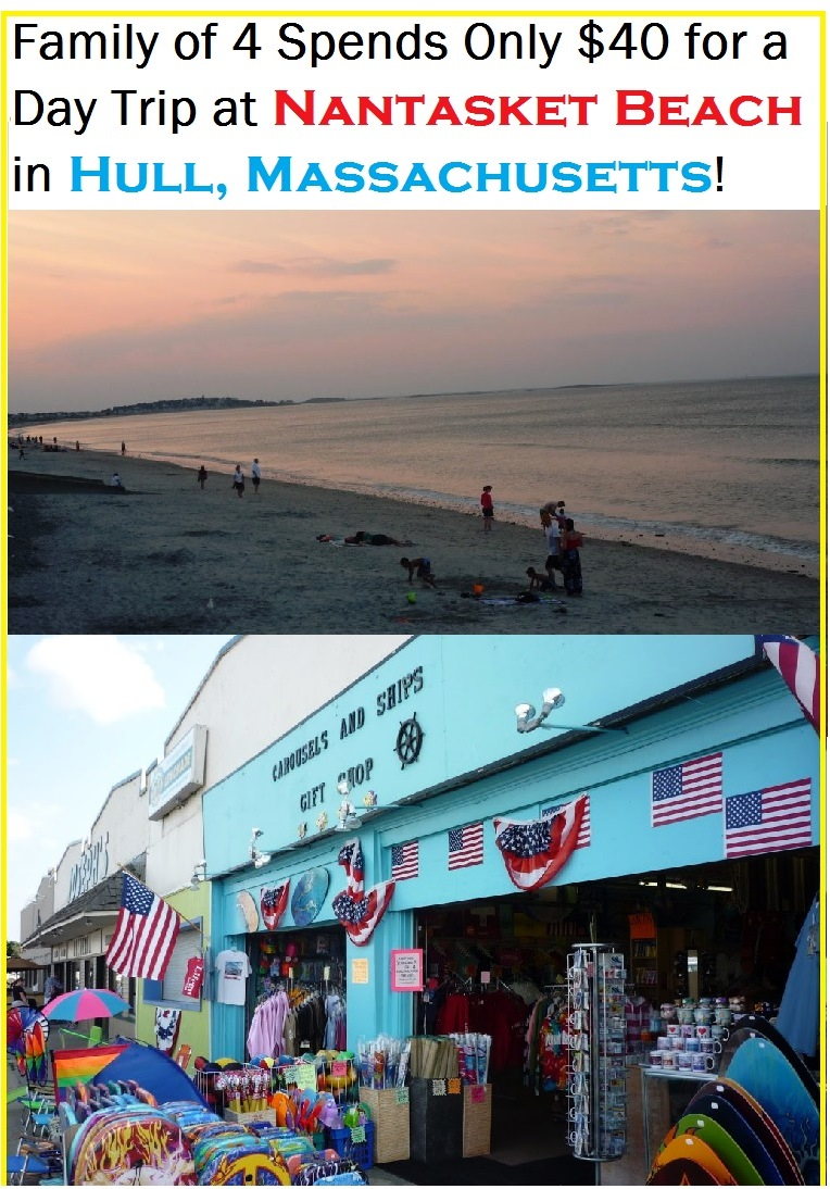 Budget family travel ideas for Nantasket Beach in Hull, Massachusetts...
