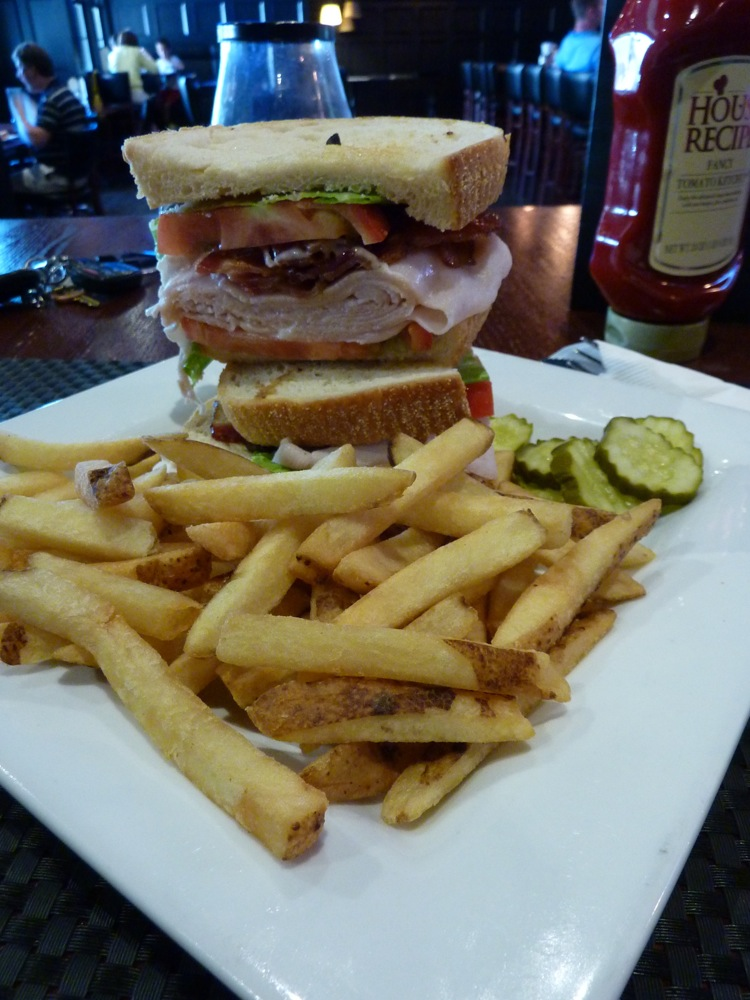 Turkey, bacon, lettuce, tomato sandwich from Napper Tnayd's in Millis, Mass.