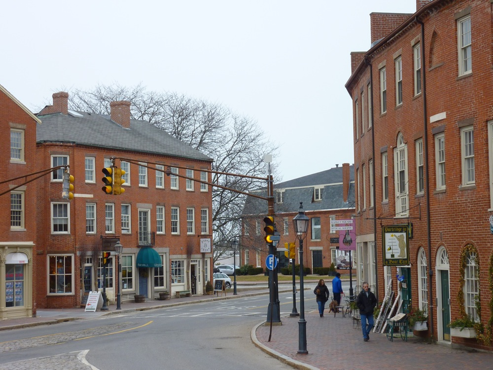 The heart of downtown Newburyport, Massachusetts