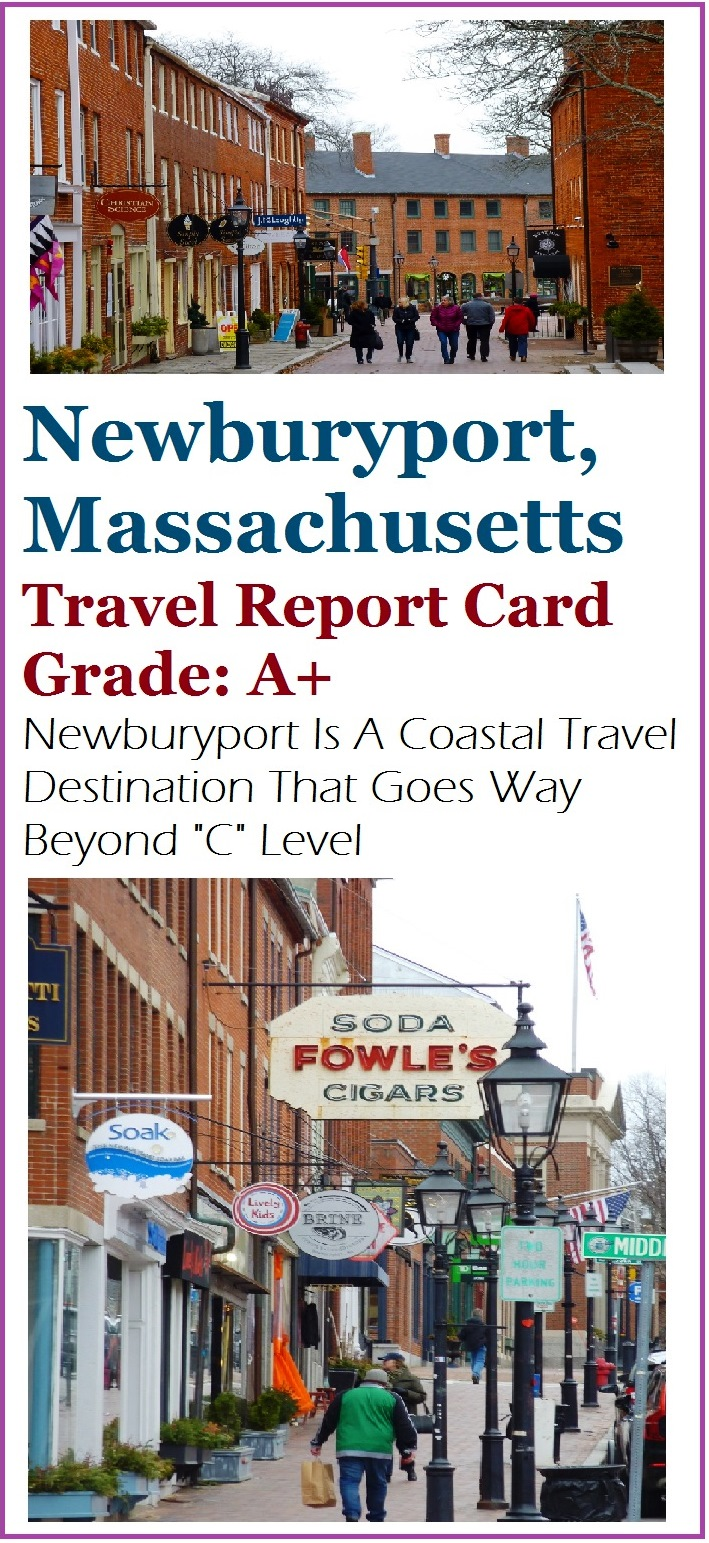 Newburyport, Mass., features a beautifully restored brick-dominated downtown, local shops and restaurants and beautiful water views.