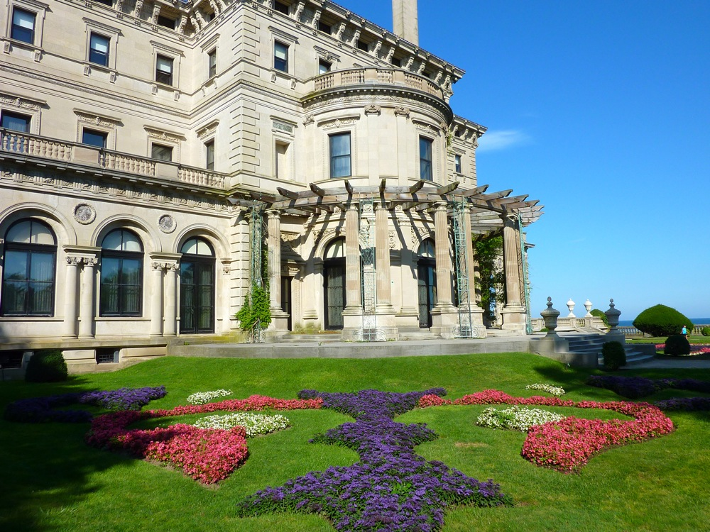 The Breakers mansion in Newport, R.I.