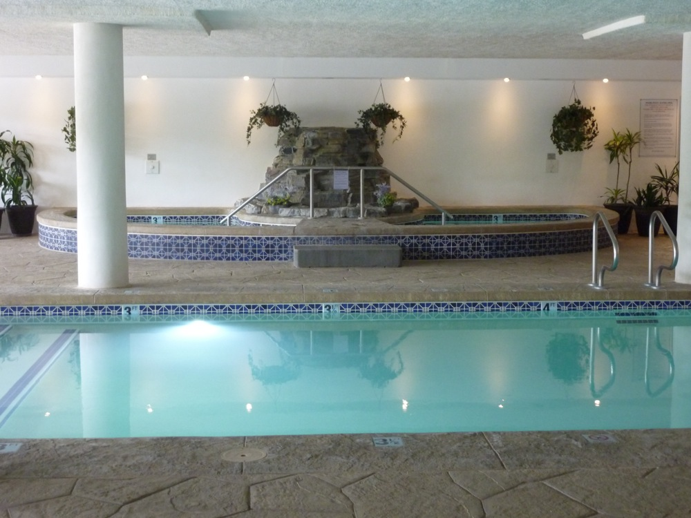 Indoor pool at Normandy Farms Campground in Foxborough, Mass.