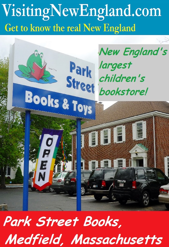 Park Streets Books in Medfield, Mass., is the largest children's bookstore in New England.