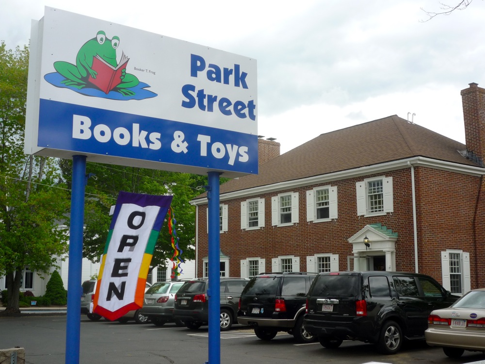 Park Street Books is the largest kids bookstore in New England