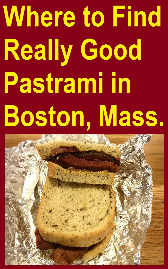 New York City is not the only place for a great pastrami sandwich. Boston, Mass., has it, too, like at Beantown Pastrami Co. in the Boston Public Market.