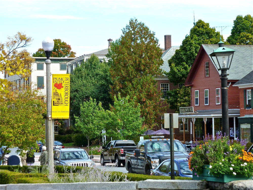 Downtown Peterborough NH