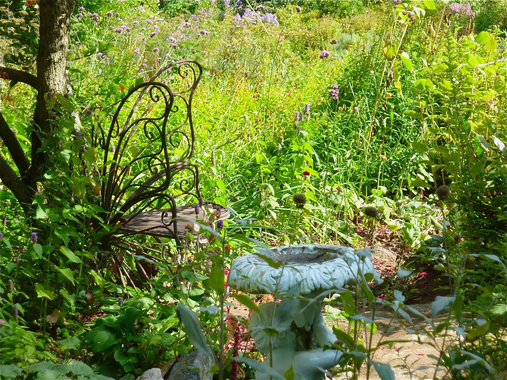 Pickity Place butterfly garden in Mason, N.H.