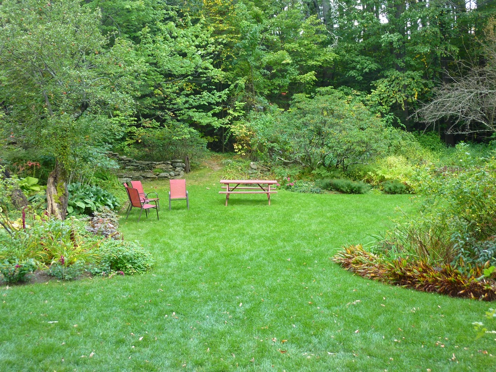 Relaxing at Pickity Place in Mason, N.H.
