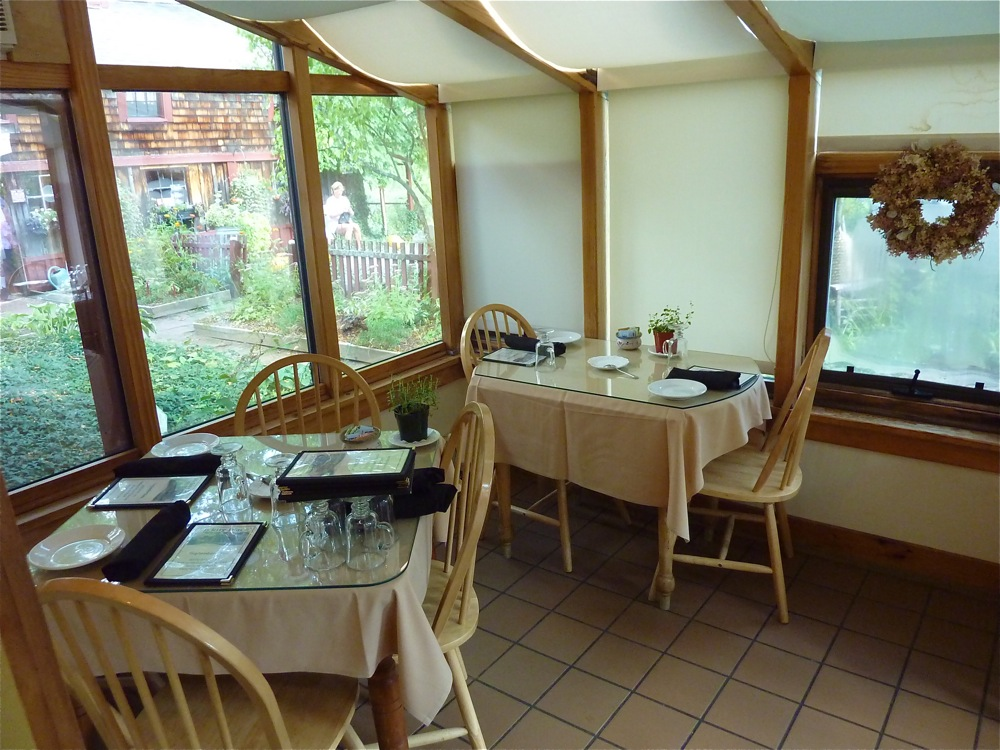 Sun room at Pickity Place's restaurant in Mason, N.H.