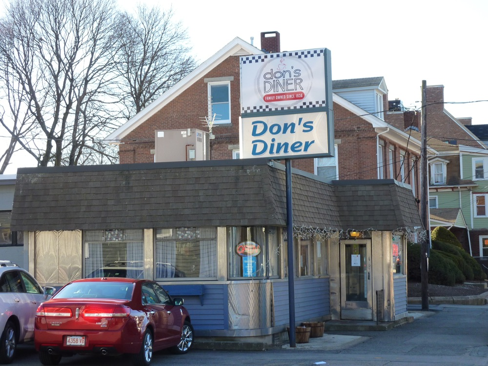 Don's Diner, Plainville, Mass.