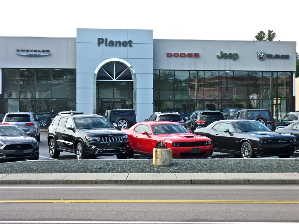 Planet Chrysler Jepp Dodge Ram in Franklin MA