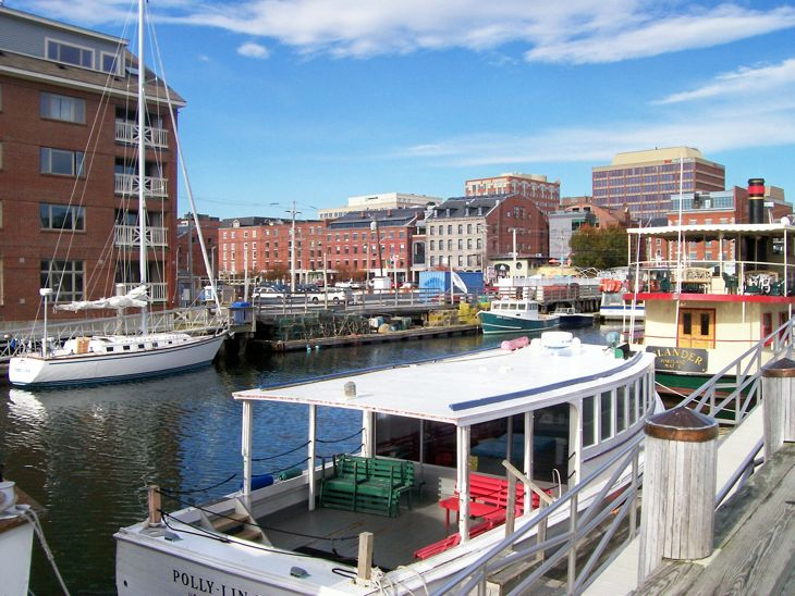 Portland, Maine, Waterfront Photo