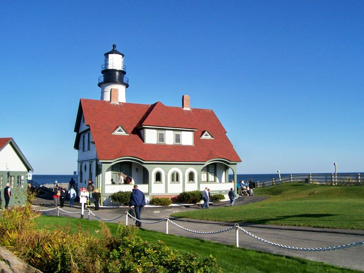 Portland Head Light in Cape Elizabeth, Maine is a rite of passage into a Maine vacation.