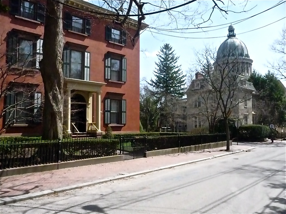 College Hill in Providence, Rhode Island