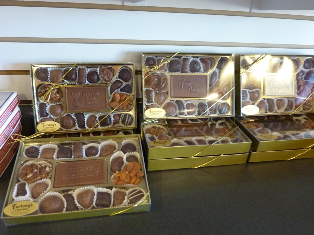 Homemade chocolates from Furlong's Candies in Norwood MA