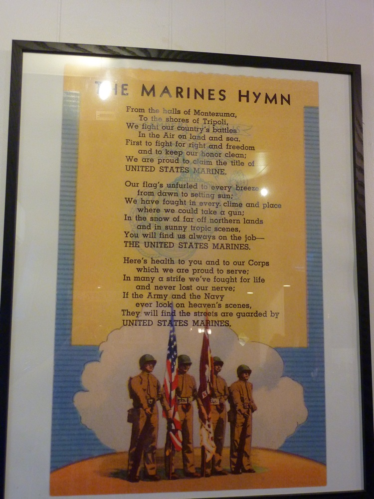 The Marines Hymn at Rosetta's Italian Restaurant in Canton, Mass.