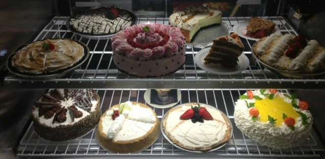 Mouthwatering desserts from the Roundabout Diner in Portsmouth NH