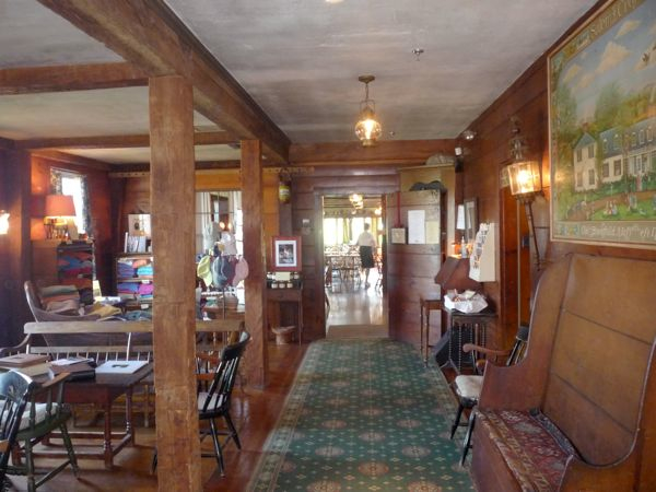 Salem Cross Inn lobby, West Brookfield MA