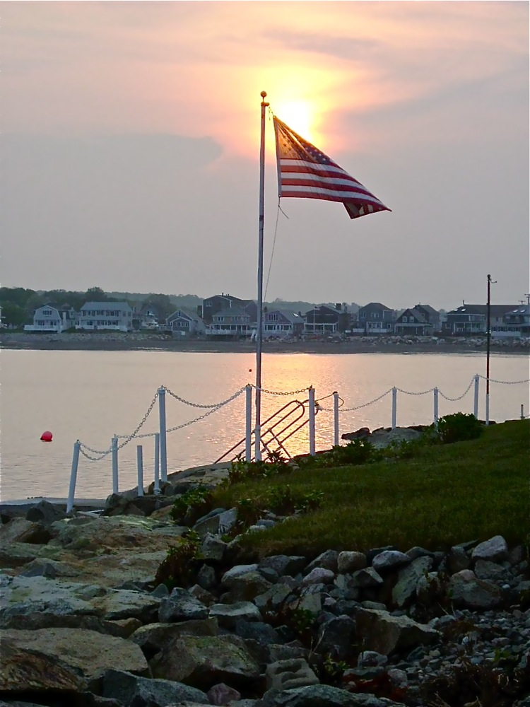 Scituate Harbor, Massachusetts sunset