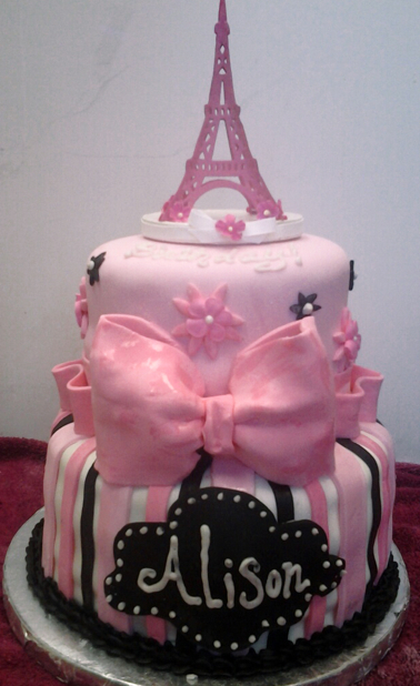 Shancakes custom made cake, Leominster MA