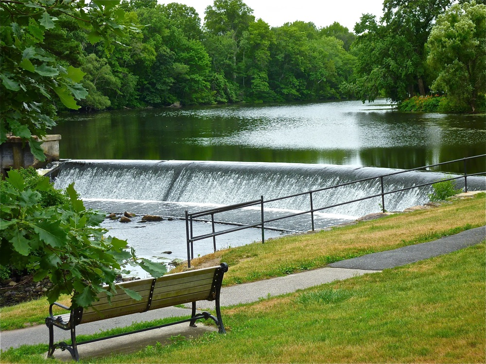 Charles River at South Natick Massachusetts